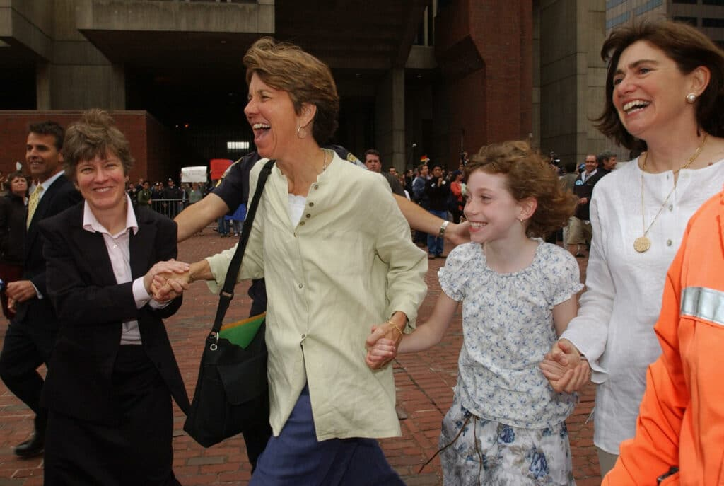 Mary L. Bonauto says she is 'optimistic' for trans rights, after seeing the long road to marriage equality in the US.