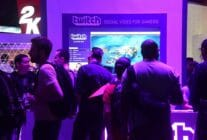 Twitch booth at the E3 show in 2016