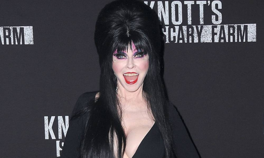 Elvira comes out as queer and reveals 19-year relationship with 'beautiful, androgynous creature'