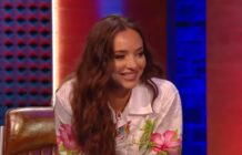 Little Mix star Jade Thirlwall speaking about Noel Gallagher on Never Mind The Buzzcocks