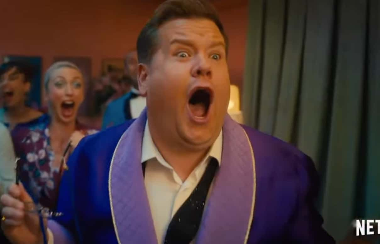James Corden in The Prom