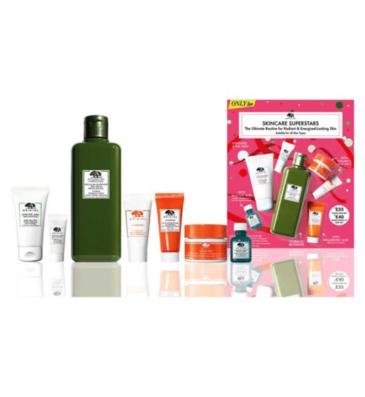 This Origins Skincare set is worth over £90, but you can get it for £35. (Boots)