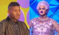 Side by side image of Canada's Drag Race star Ilona Verley and Jeffrey Bowyer-Chapman