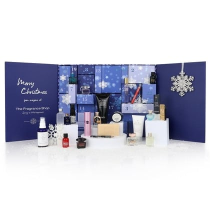 The advent calendar from The Fragrance Shop.