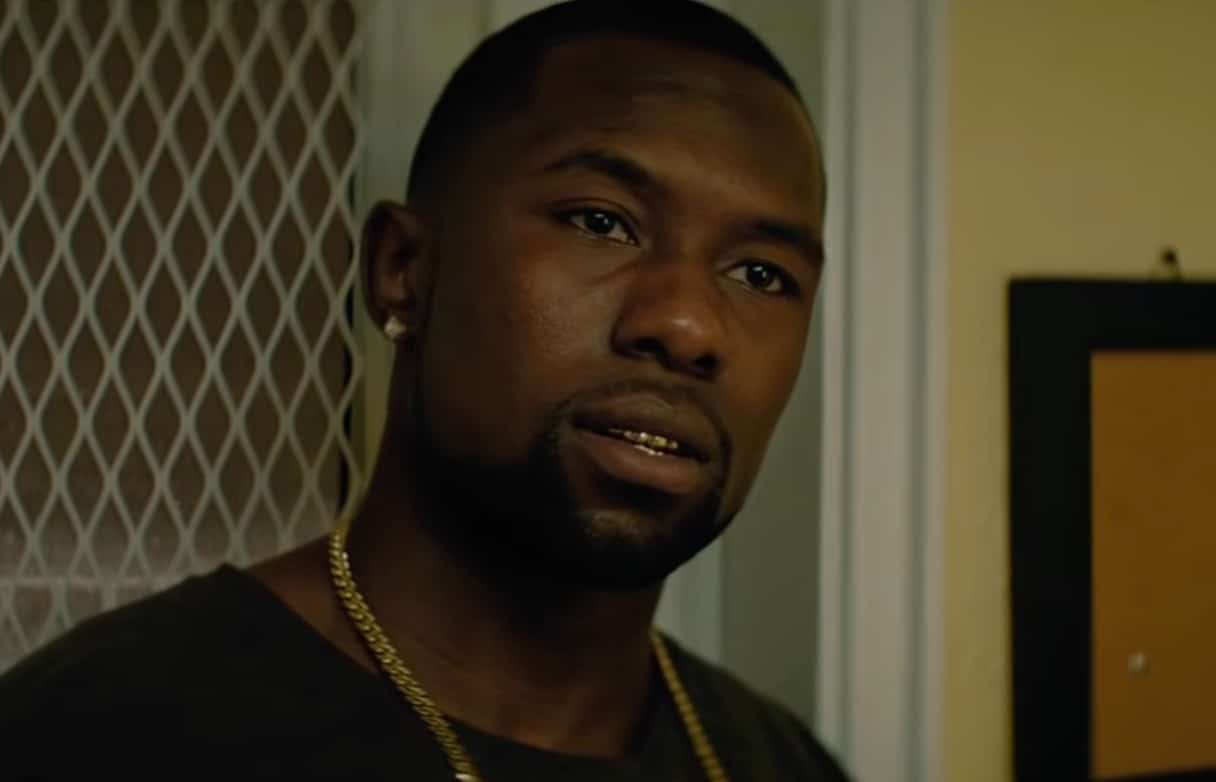 Trevante Rhodes as adult Chiron in Moonlight.