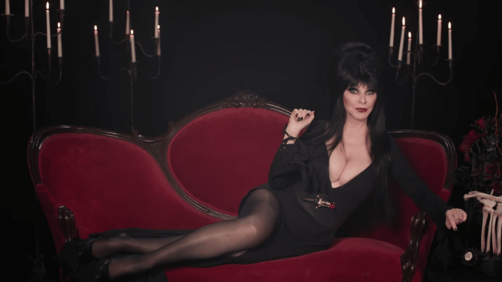 Elvira is celebrating her 40th anniversary with a Halloween, horror special for streaming service Shudder.