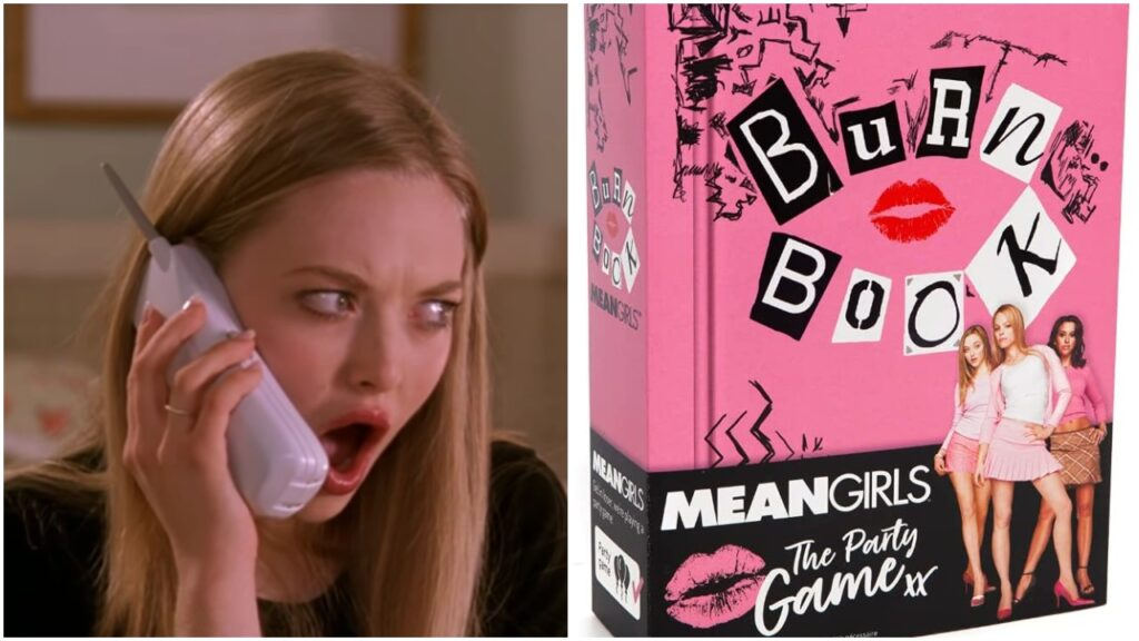 Mean Girls fans can get their hands on a party game inspired by the hit film.