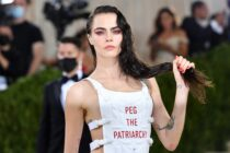 """Luna Matatas trademarked the phrase """"Peg the Patriarchy"""" in 2015."""