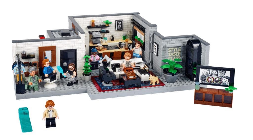 The Queer Eye x Lego set features tributes to each of the Fab 5.
