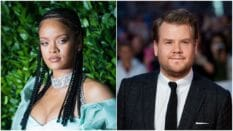 Rihanna is teaming up with James Corden ahead of the release of Savage x Fenty Vol. 3.