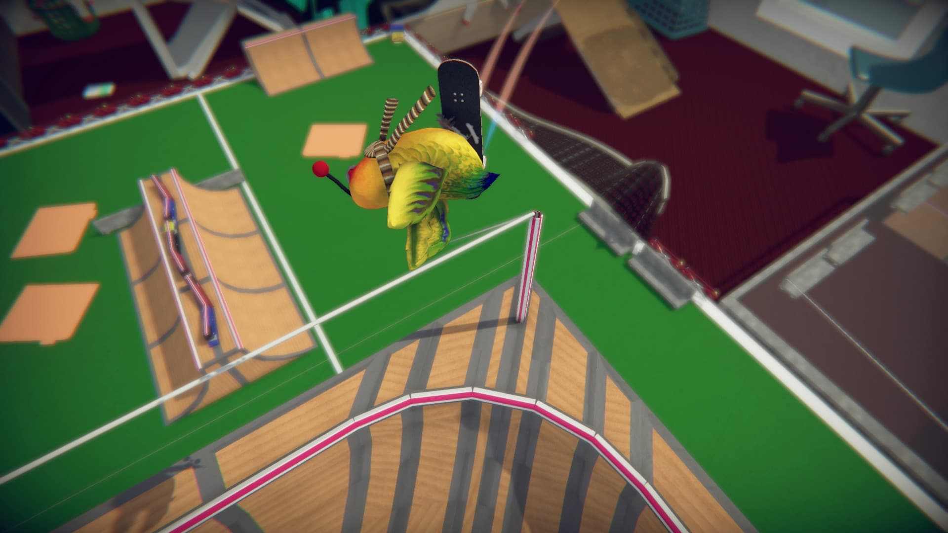 Trans developer's skateboarding game is like Tony Hawk's but much, much cuter