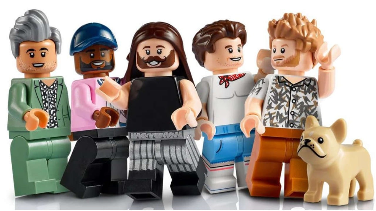 Yaaaas queen! Lego are releasing a Queer Eye themed set.