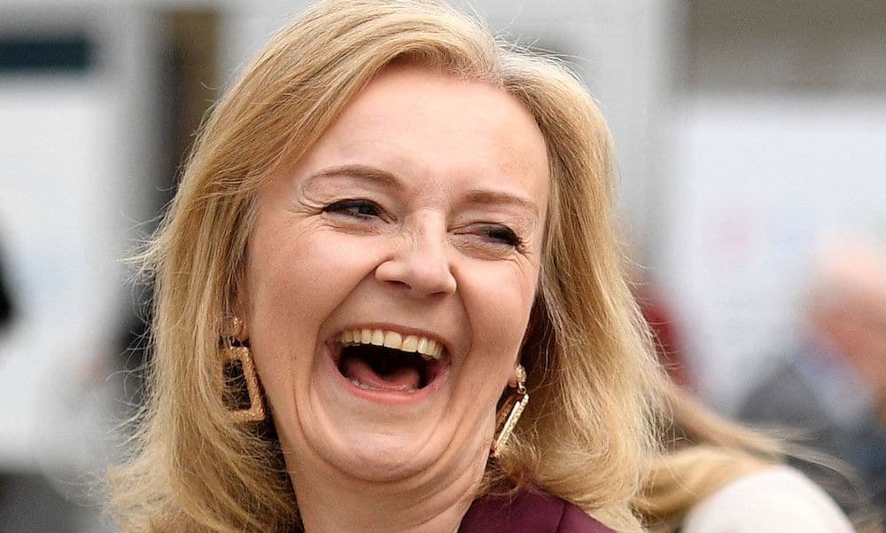 Foreign Secretary and Minister for Women and Equalities Liz Truss at the Conservative Party Conference