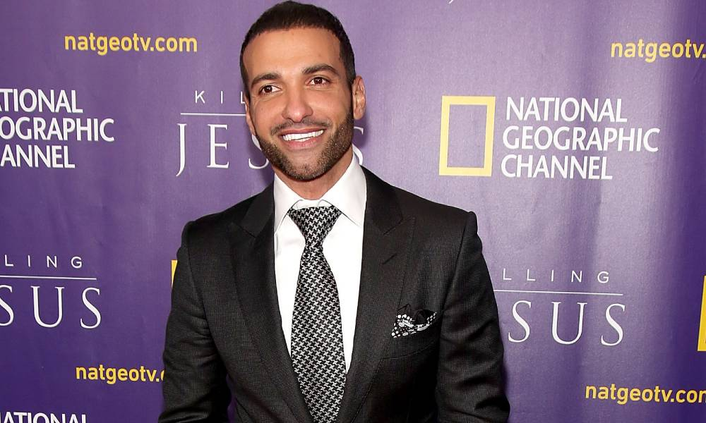 Haaz Sleiman attends the world premiere of National Geographic Channel's 'Killing Jesus'