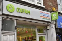 An Oxfam charity bookshop in central London