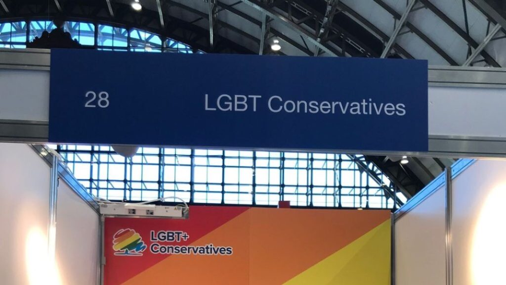 LGBT Conservatives were placed in Section 28 at the Conservative party conference