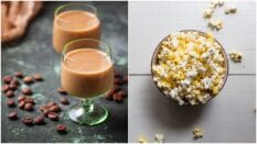 Baileys has launched two new flavours of popcorn in time for Christmas.