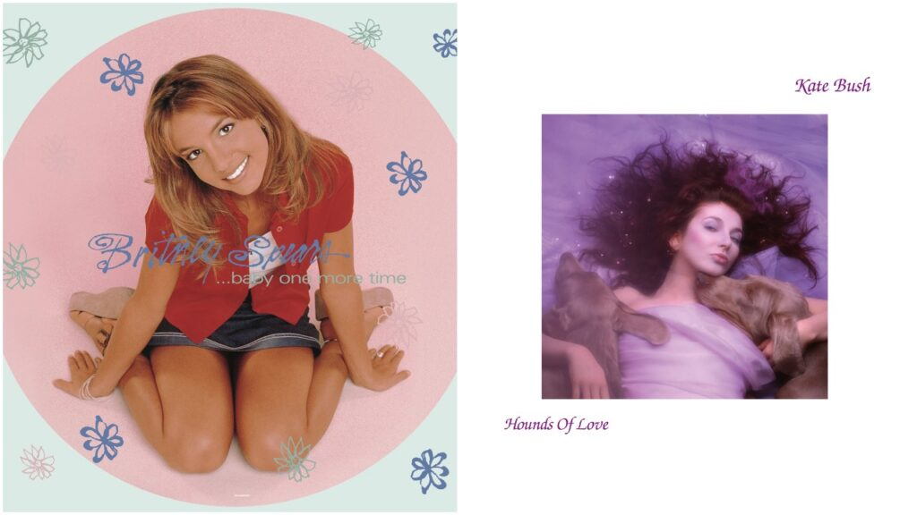 Vinyl records from Britney Spears and Kate Bush currently feature in HMV's early Black Friday sale.