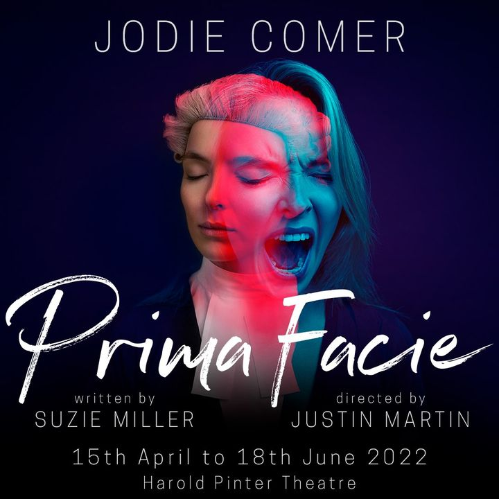 Jodie Comer will star in Prima Facie from 15 April to 18 June at the Harold Pinter Theatre.