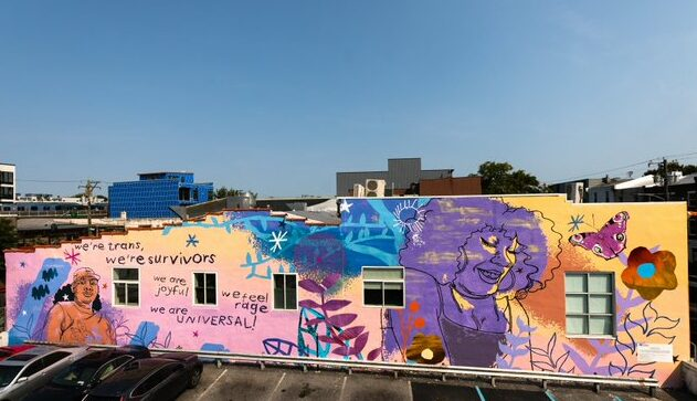 Murals commemorating trans lives have sprung up across the US.